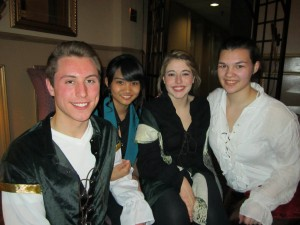 Members of the Cast of The Twelfth Night