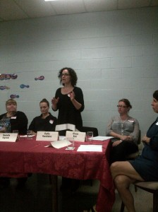 Candidate Kathy Vassilakos discusses the issues of poverty, jobs and affordable housing in the City of Stratford.